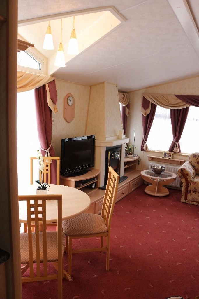Spacious static caravan on possibly the best holiday development in Northumberland