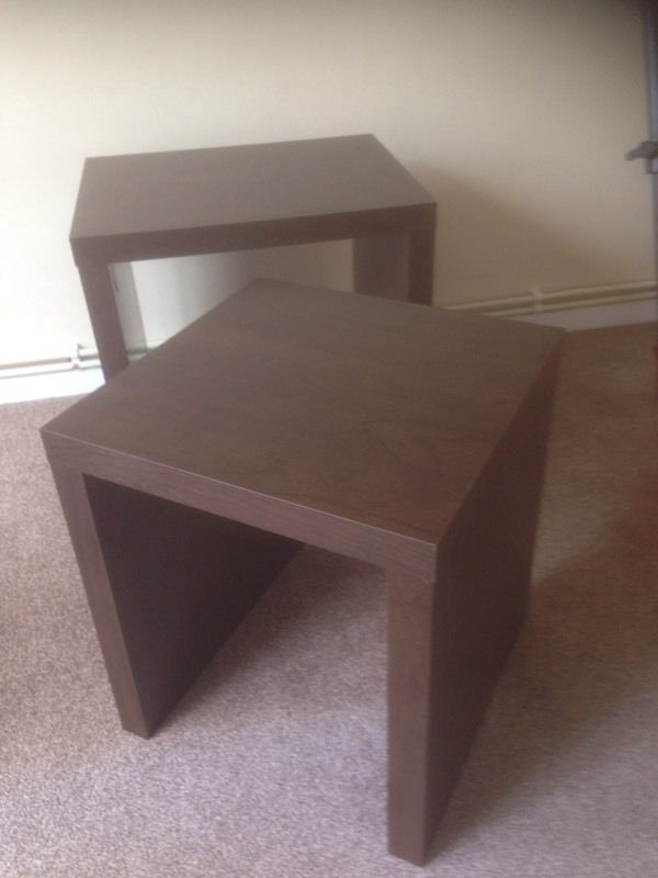 2 small side table for sale