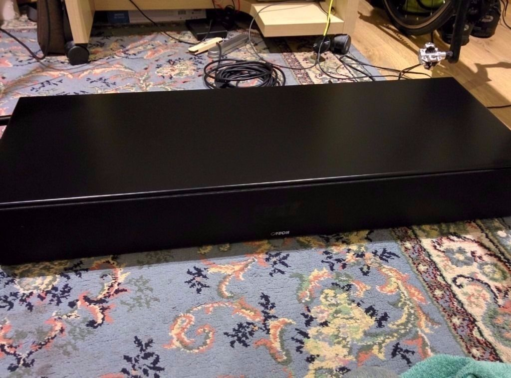 Canton DM 8.2 Soundbar/Soundbase/Speakers - Black (boxed & excellent condition)