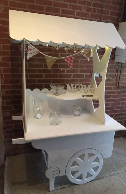 Sweet / Candy cart and wishing well for hire