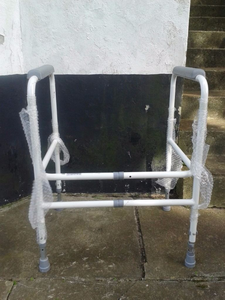 Toilet Frame with Adjustable Height and Width