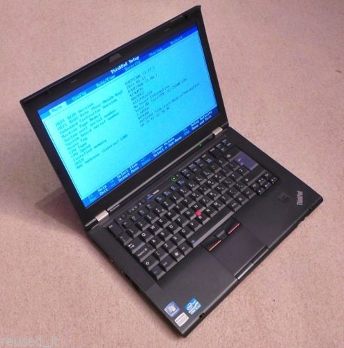 Lenovo IBM Thinkpad T420 laptop Intel 4x 2.6ghz Quad Core i5-2nd gen processor