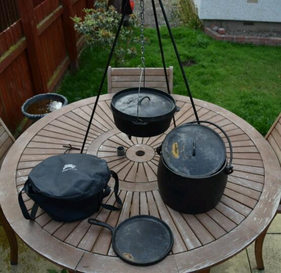 Outdoor cooking camping equipment