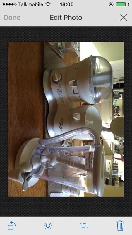 Kenwood Juicer.