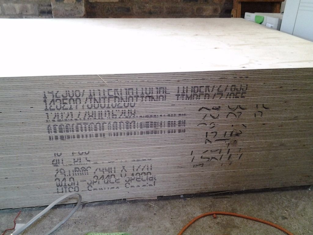 Plywood (WISA spruce structural 24mm 2400 x 1200)