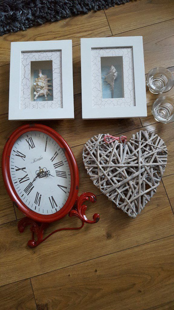 Table clock/plate/picture's/living room bathroom decoration's.....