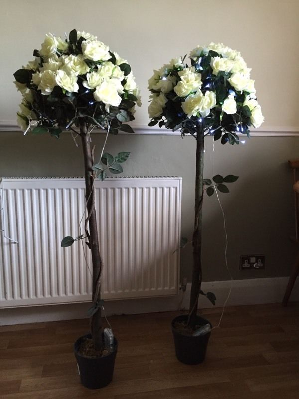 Artifical Rose Trees