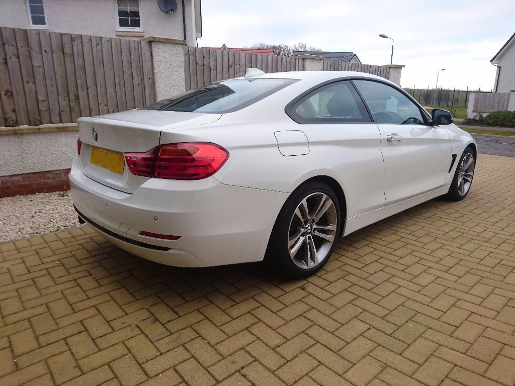 BMW 4 Series 420i Sport Auto with low mileage and optional extras, 64 reg
