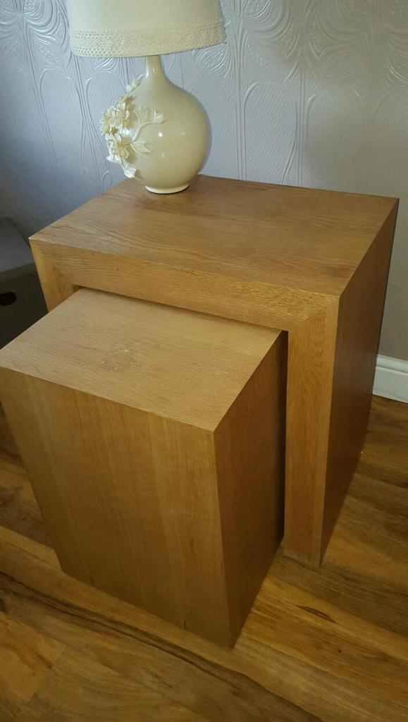 2 sets of next tables