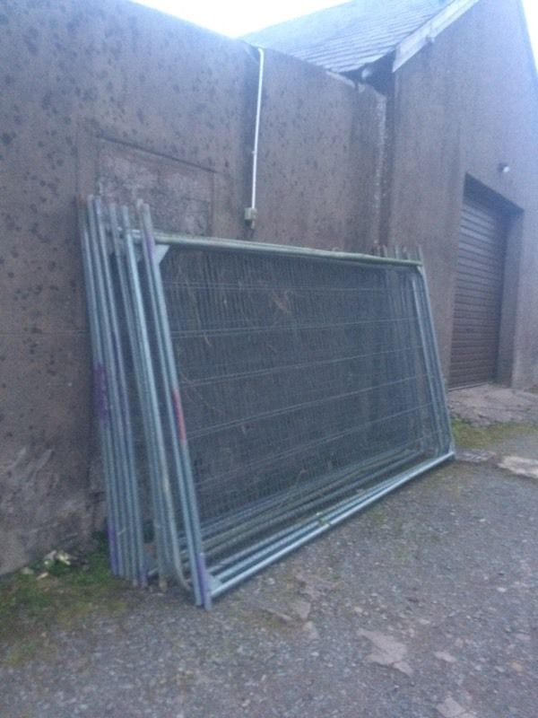 Site security fencing