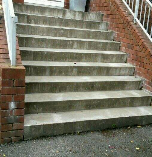 Tiler wanted to tile steps.