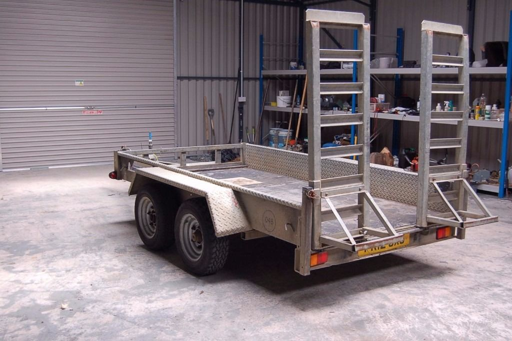 Indespension AD2500 10 X 5 Twin Axle Trailer for sale