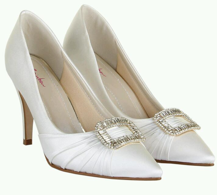 Rainbow Club Wedding Shoes Size 5