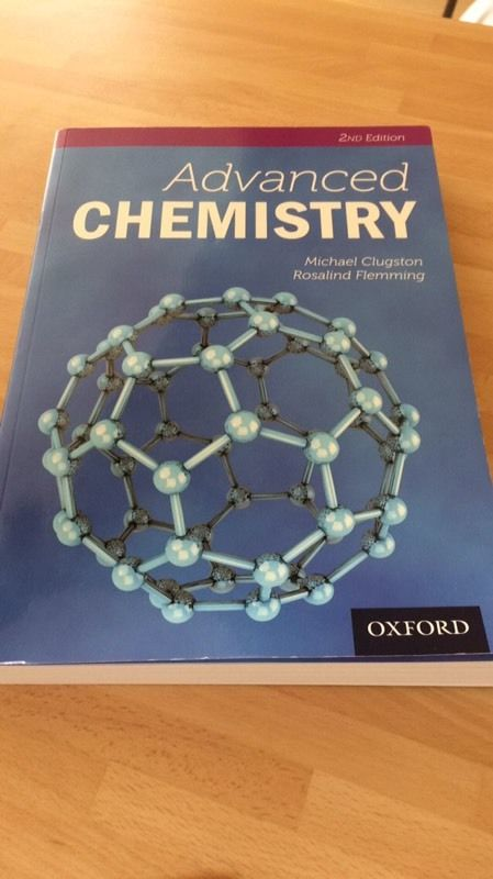 A Level Chemistry books