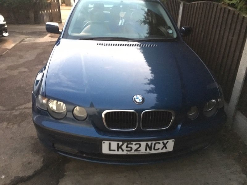 Breaking complete bmw e46 compact 316/318i