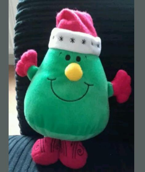 Mr Men Christmas soft toy (10.5 inches tall)