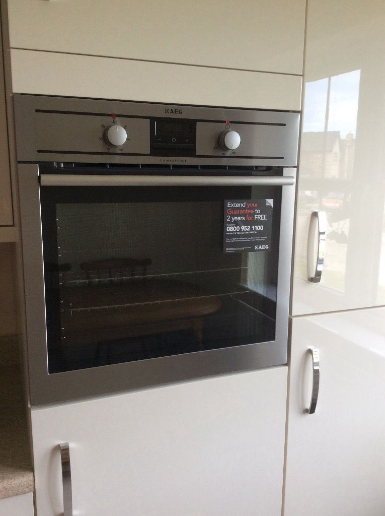 AEG Competence Built in Single Electric Oven