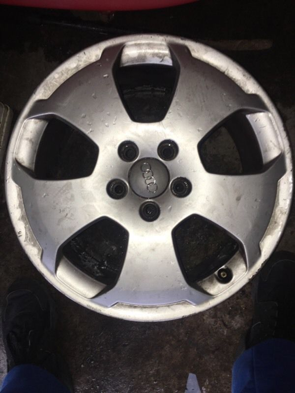 Audi a3 wheels 5x112 no tyres