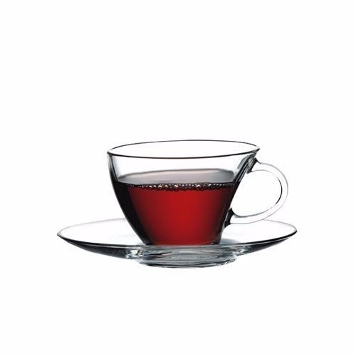 Pasabahce penguen 12 pcs Set Cup with Saucer Penguen Coffee mug Teacups