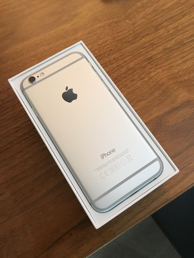 iPhone 6 16gb EE white silver BRAND NEW