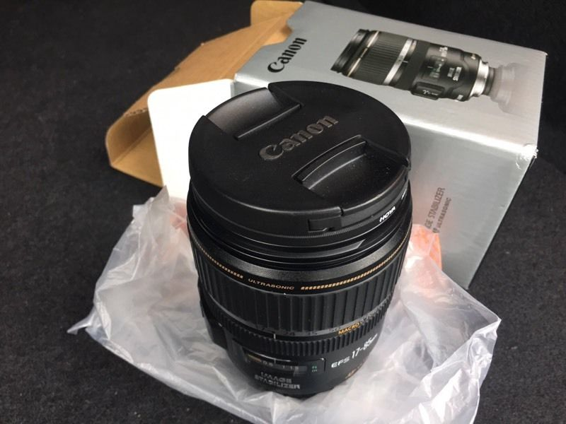 Canon EF-S 17-85mm Ultrasonic Lens