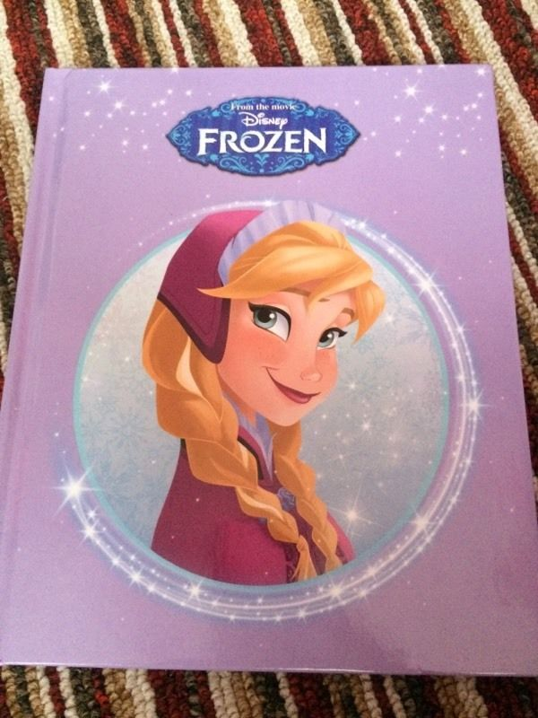Disney Frozen from the movie book - brand new