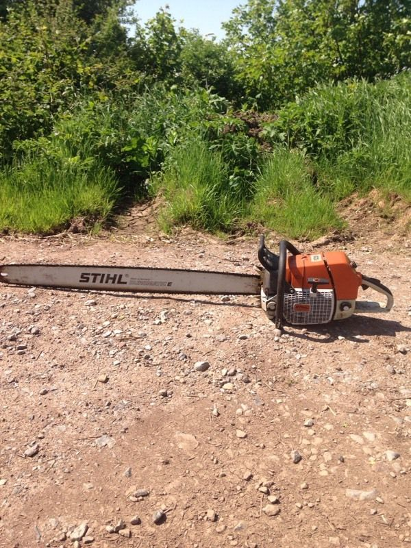 Stihl 880 chainsaw