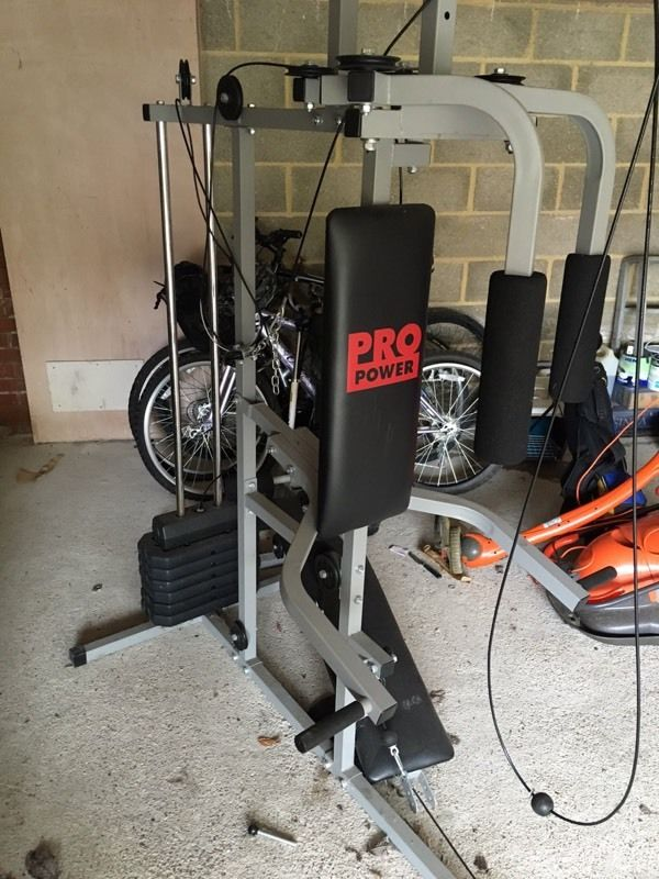 Home gym - Pro power