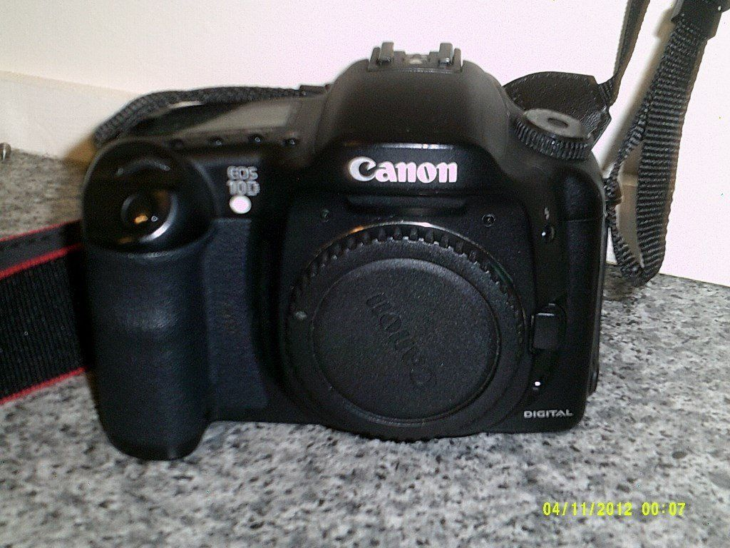 Canon EOS 10D WITH ALL ACCESSORIES