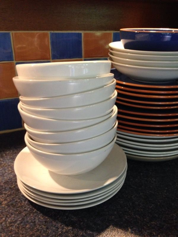 Bulk crockery sale for BBQ or party etc