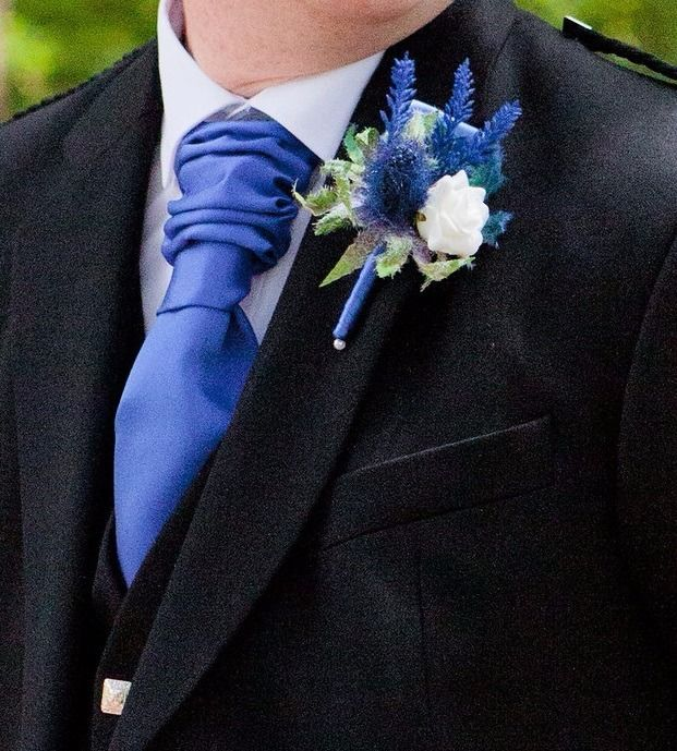 Cravat - Royal Blue x 3