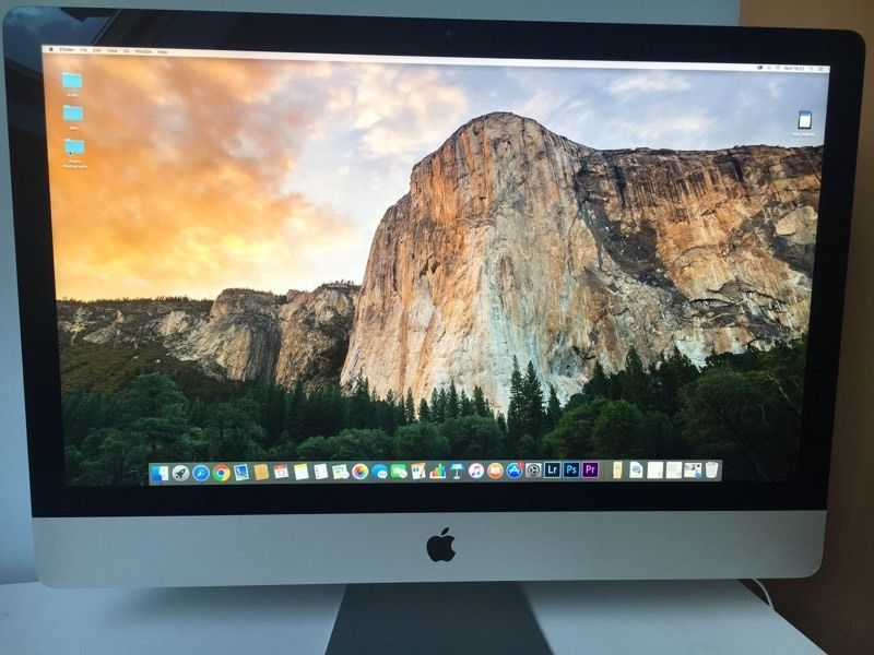 IMAC 27 inch 5k display (2016-5 months old)