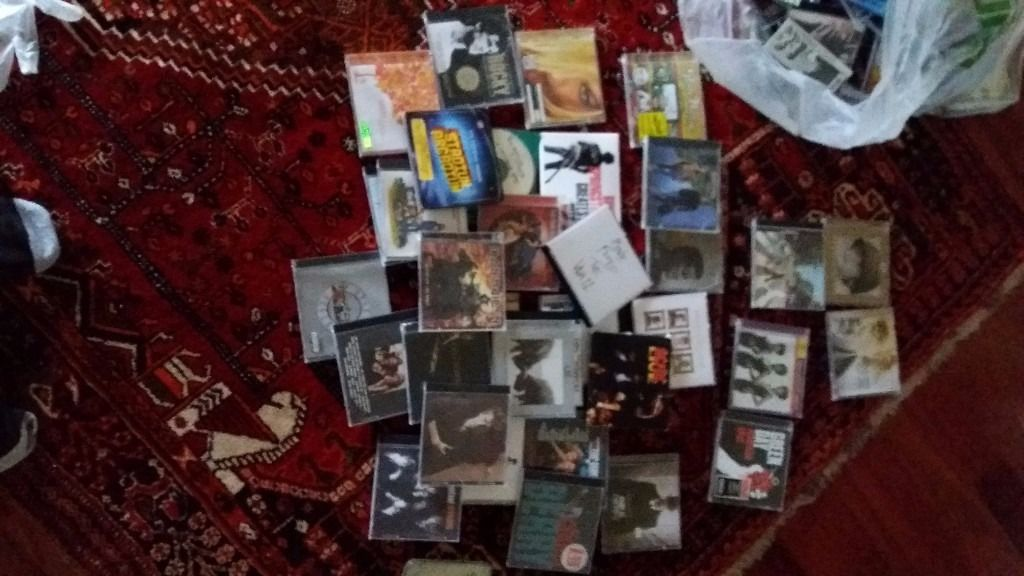 A COLLECTION OF CD'S 40 +