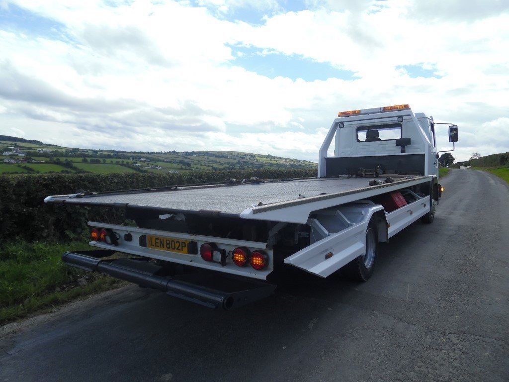 2004 Man 7.5 tonne slide and tilt Bed Recovery Lorry