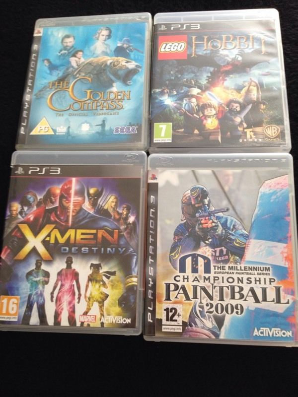 PS3 games bungle