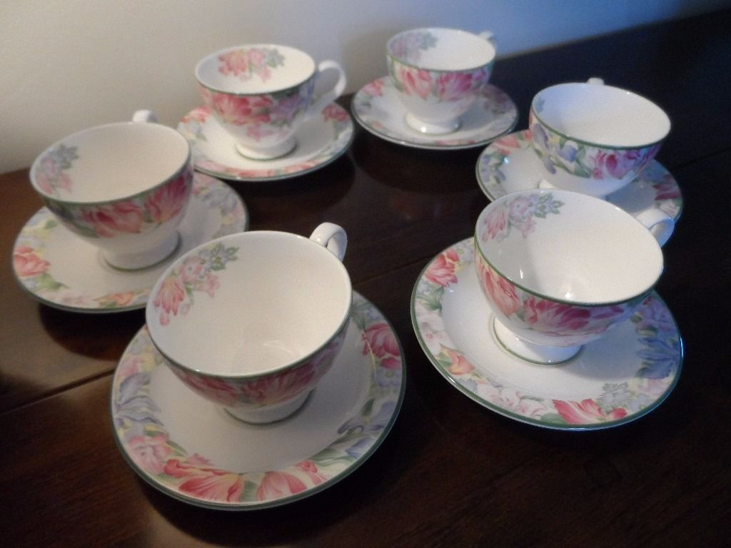 ROYAL ALBERT - FONTEYN COFFEE SET - PERFECT CONDITION