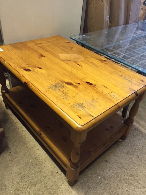 Solid pine coffee table - can deliver