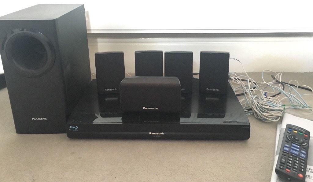 """Panasonic Blu-ray home theater system (TV 32"""" also available)"""