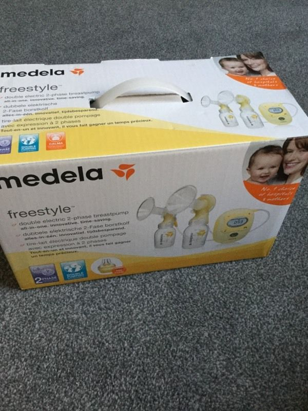 Medela Freestyle Double Electric 2-Phase Breast Pump