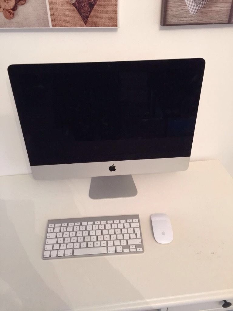 "Apple iMac 21.5"" 2.7ghz i5 8gb ram - iris pro graphics- 1tb hdd"