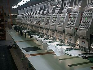 Embroidery Machinist