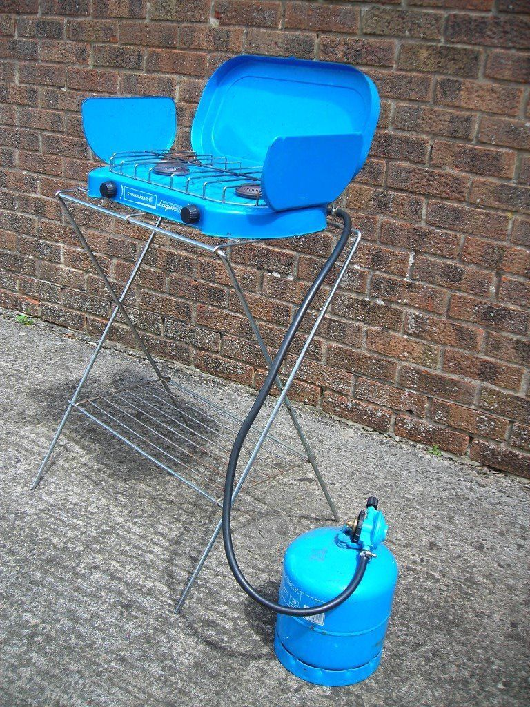 CAMPING GAZ COOKER AND STAND