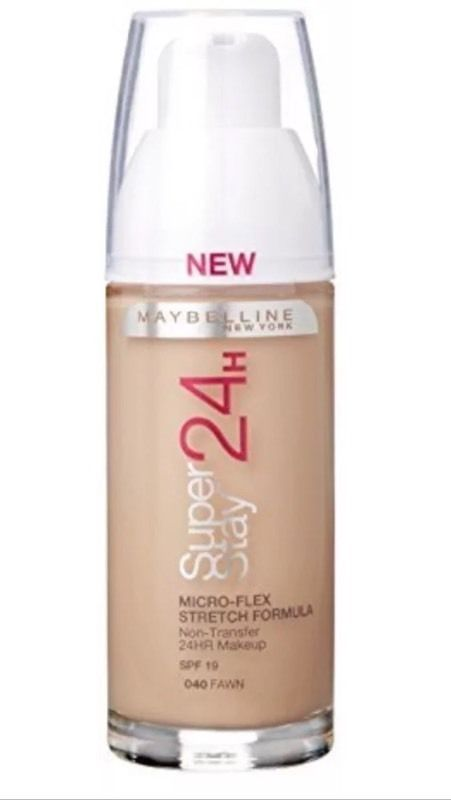 Maybelline 24 hour super stay foundation 040 - Fawn/Cannelle