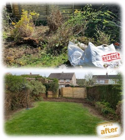 Gardener Hedge and Grass Cutting Mowing Pruning Digging Borders Garden Maintenance Tidy Ups