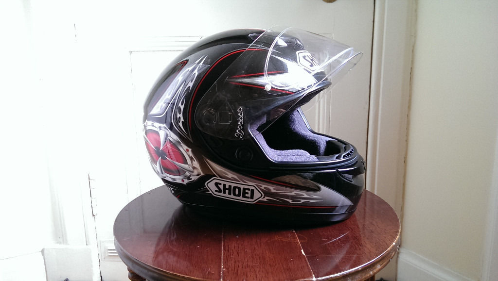 Shoei XR-1000 Motorcycle Helmet - Excellent condition!