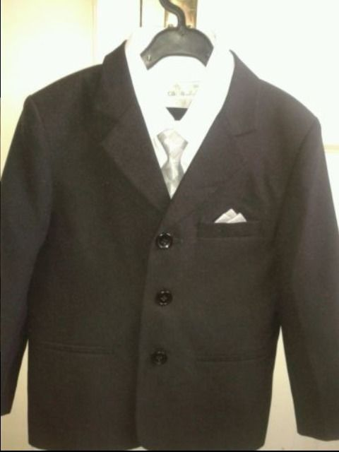 BOYS 5PCS SUIT AGE 7