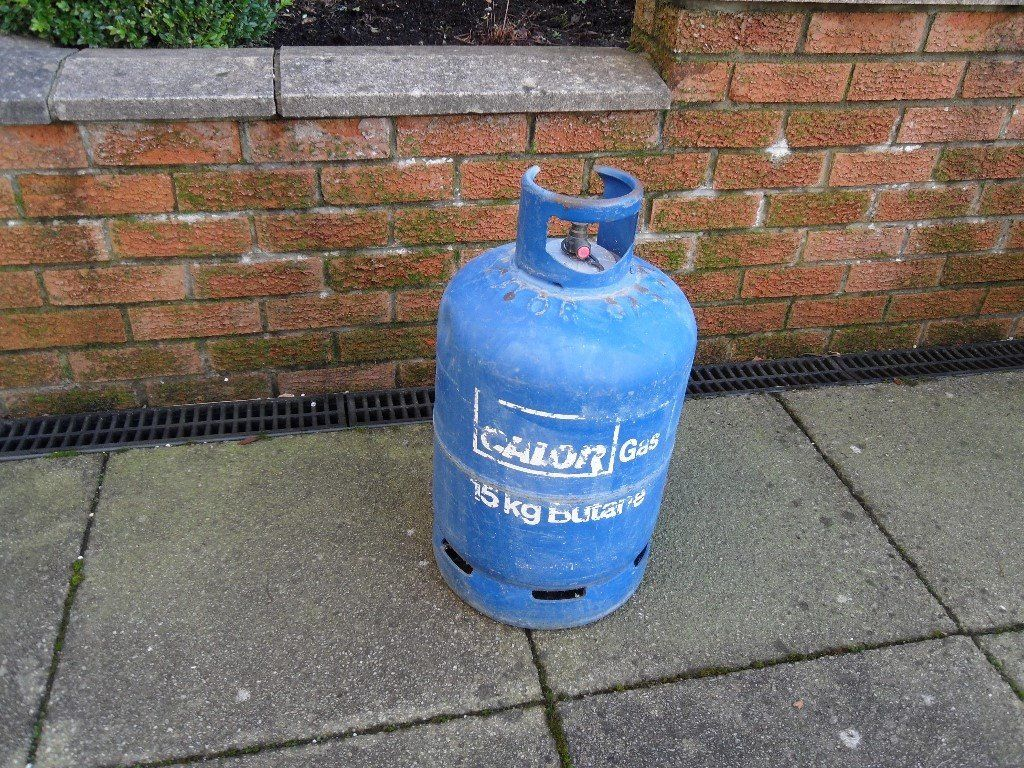 Calor Gas Canister 15kgs Used Once