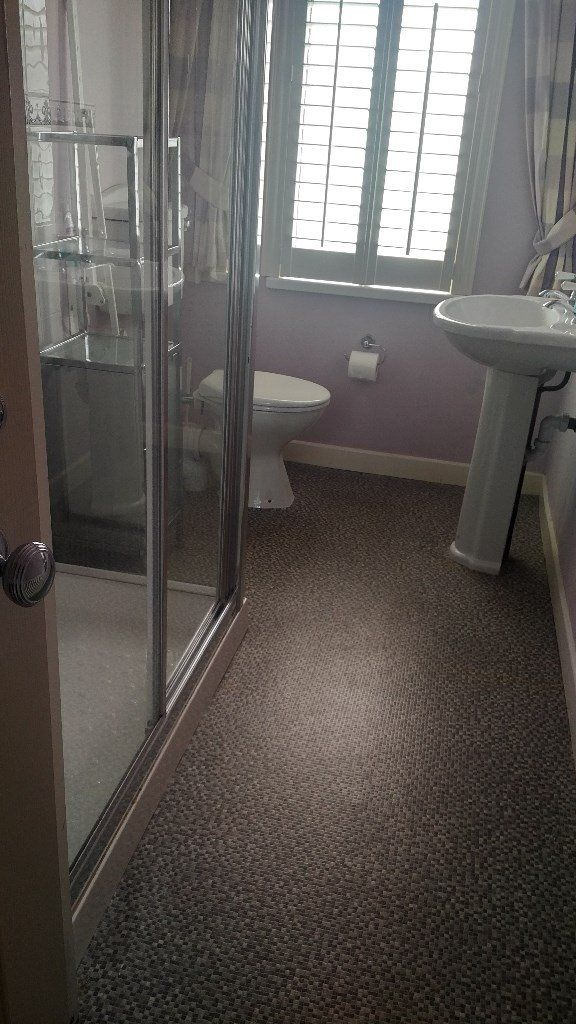 Attractive Sink, Toilet and Shower Doors/Tray