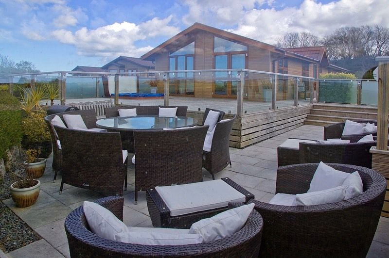 50' x 22' Luxury Lodge near Red Wharf Bay, Anglesey