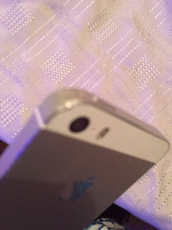 iPhone 5s 16gb White & Silver Giff gaff /Tesco02 Sim Locked